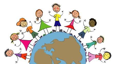 demi globe enfants du monde